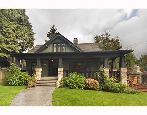 Main Photo: 1121 CONNAUGHT Drive in Vancouver: Shaughnessy House for sale (Vancouver West)  : MLS®# V669109