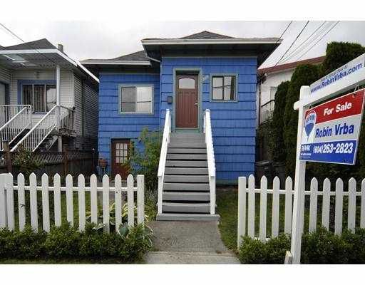 Main Photo: 509 E 16TH Avenue in Vancouver: Mount Pleasant VE House for sale (Vancouver East)  : MLS®# V713318