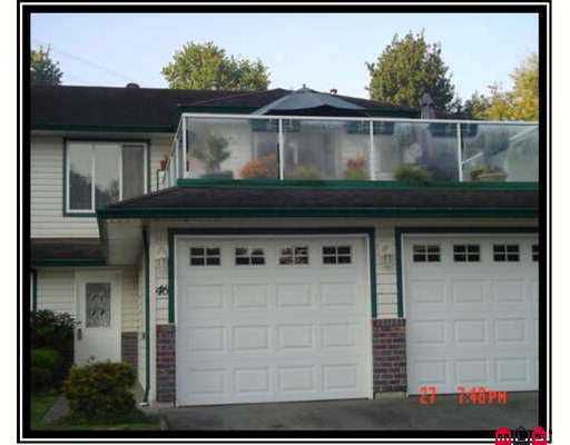 """Main Photo: 46 34250 HAZELWOOD AV in Abbotsford: Central Abbotsford Townhouse for sale in """"Still Creek"""" : MLS®# F2622228"""