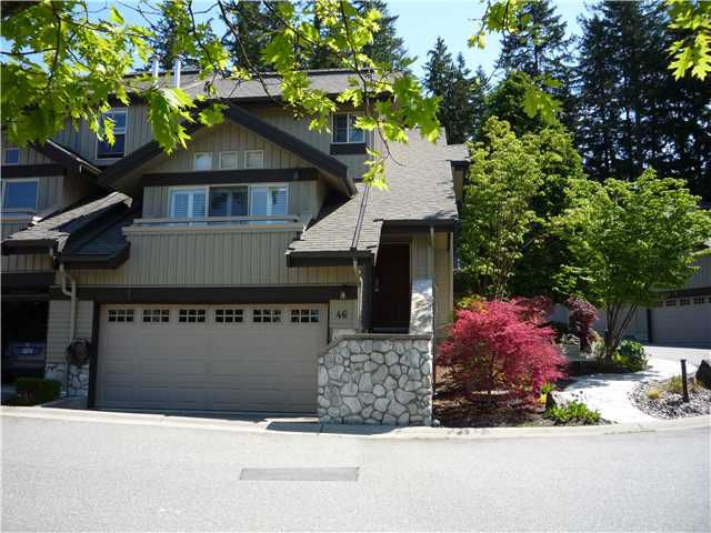 """Main Photo: # 46 1550 LARKHALL CR in North Vancouver: Northlands Condo for sale in """"NAHANEE WOODS"""" : MLS®# V893502"""