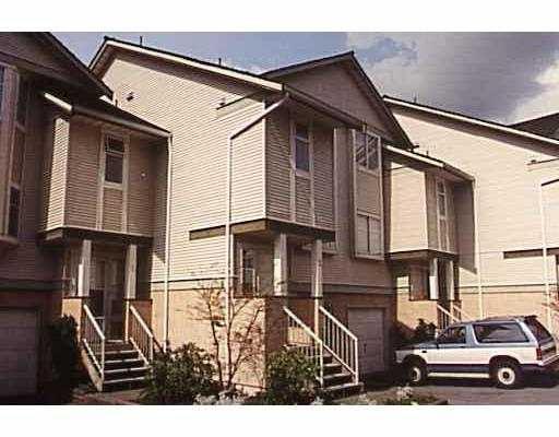 "Main Photo: 8 1318 BRUNETTE AV in Coquitlam: Maillardville Townhouse for sale in ""PLACE PARE"" : MLS®# V560977"