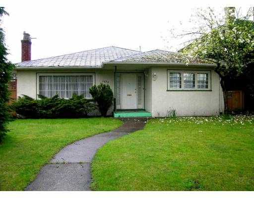 Main Photo: 1479 W 56TH Avenue in Vancouver: South Granville House for sale (Vancouver West)  : MLS®# V642556