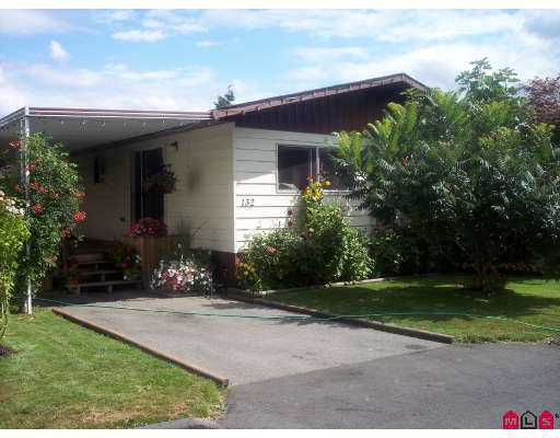 "Main Photo: 132 3300 HORN ST in Abbotsford: Abbotsford West Manufactured Home for sale in ""Georgian Park"" : MLS®# F2617359"