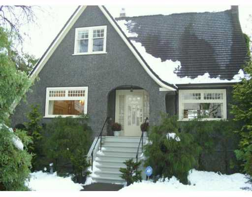 Main Photo: 1030 DEVONSHIRE in Vancouver: Shaughnessy House for sale (Vancouver West)  : MLS®# V623078