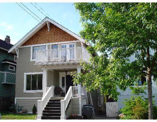 """Main Photo: 1949 ADANAC Street in Vancouver: Grandview VE House for sale in """"COMMERCIAL DRIVE"""" (Vancouver East)  : MLS®# V652514"""