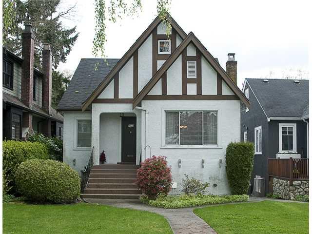 Main Photo: 4028 W 31ST AV in Vancouver: Dunbar House for sale (Vancouver West)  : MLS®# V888665
