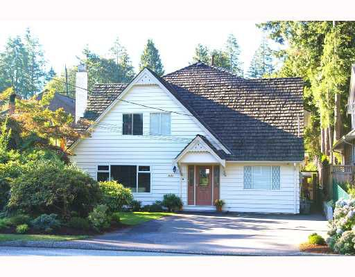 Main Photo: 1219 W 22ND Street in North_Vancouver: Pemberton Heights House for sale (North Vancouver)  : MLS®# V666204