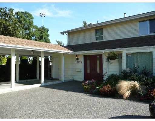 Main Photo: 6426 WILLIAMS Road in Richmond: Woodwards House 1/2 Duplex for sale : MLS®# V670153