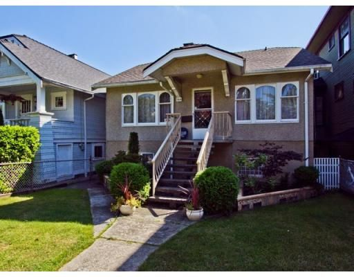 Main Photo: 564 W 19TH AV in Vancouver: Cambie House for sale (Vancouver West)  : MLS®# V847456