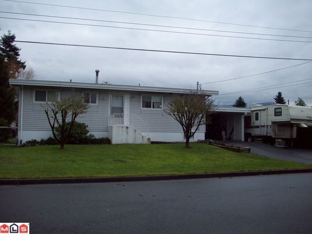 Main Photo: 8515 HOWARD CR in Chilliwack: Chilliwack E Young-Yale House for sale : MLS®# H1200176