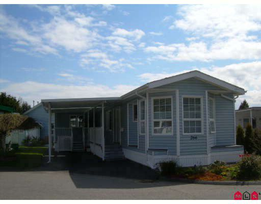 """Main Photo: 266 1840 160 Street in Surrey: King George Corridor Manufactured Home for sale in """"Breakaway Bays"""" (South Surrey White Rock)  : MLS®# F2811728"""