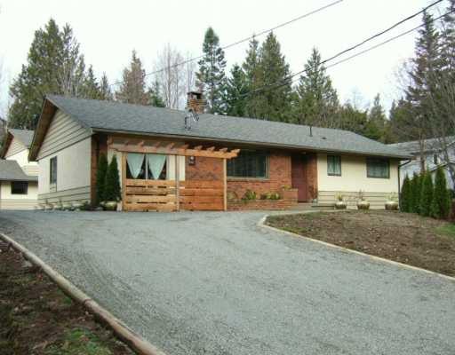 Main Photo: 7760 REDROOFFS Road in Halfmoon Bay: Halfmn Bay Secret Cv Redroofs House for sale (Sunshine Coast)  : MLS®# V629949