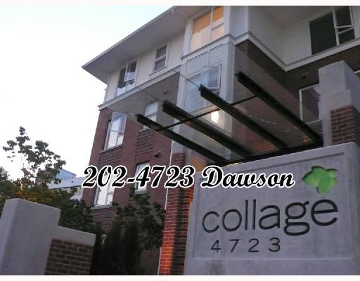 """Main Photo: 202 4723 DAWSON Street in Burnaby: Parkcrest Condo for sale in """"COLLAGE"""" (Burnaby North)  : MLS®# V659344"""