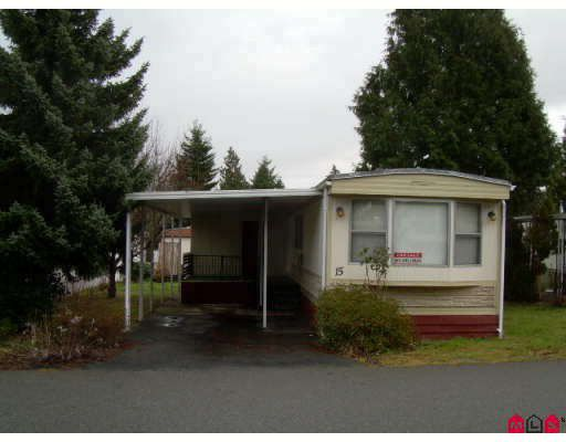 "Main Photo: 15 7790 KING GEORGE Highway in Surrey: East Newton Manufactured Home for sale in ""CRISPEN BAYS"" : MLS®# F2729980"