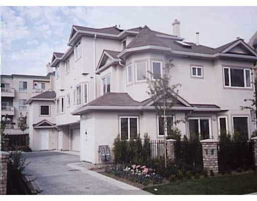 Main Photo: 8491 JONES Road in Richmond: Brighouse South Townhouse for sale : MLS®# V634191