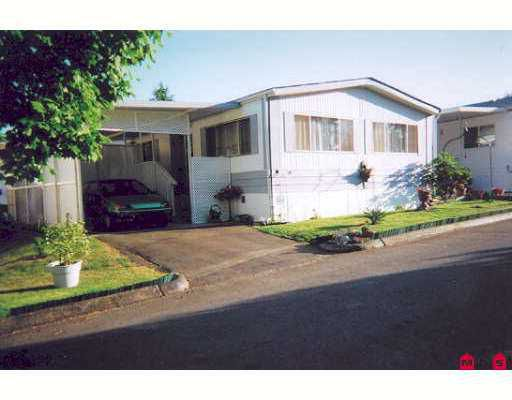 "Main Photo: 56 7850 KING GEORGE Highway in Surrey: East Newton Manufactured Home for sale in ""Bear Creek Glen"" : MLS®# F2715993"