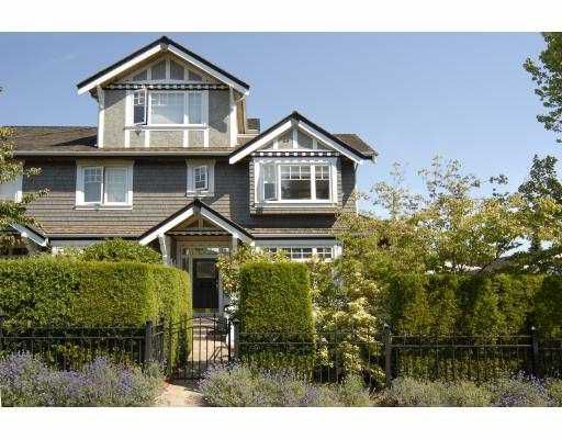 Main Photo: 3077 W 2ND Avenue in Vancouver: Kitsilano Townhouse for sale (Vancouver West)  : MLS®# V658846
