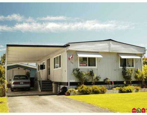 """Main Photo: 262 1840 160TH Street in Surrey: King George Corridor Manufactured Home for sale in """"BREAKAWAY BAY PARK"""" (South Surrey White Rock)  : MLS®# F2720083"""