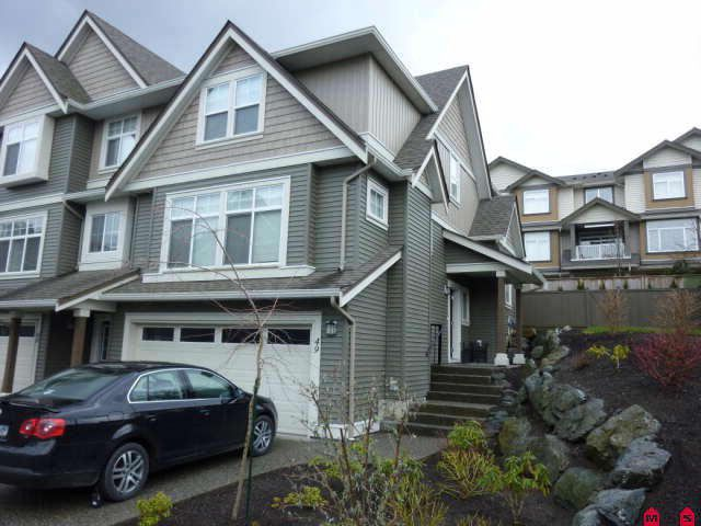 Main Photo: 49 5648 Promontory Road in Chilliwack: Townhouse  : MLS®# H1100925