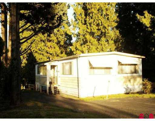 Main Photo: 1 2170 OAKRIDGE in Abbotsford: Poplar Manufactured Home for sale : MLS®# F2718899