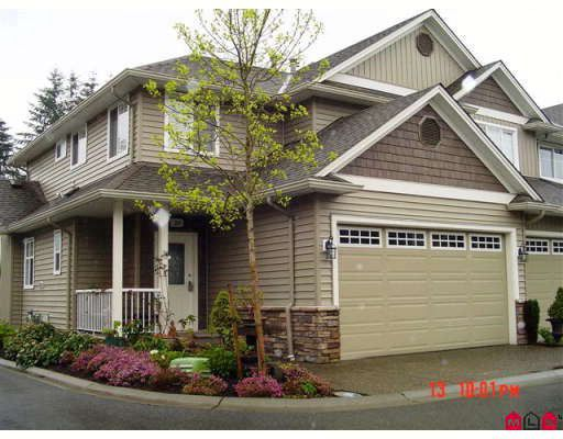 "Main Photo: 24 32849 EGGLESTONE Avenue in Mission: Mission BC Townhouse for sale in ""Cedar Valley"" : MLS®# F2814263"