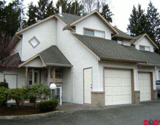 "Main Photo: 45 32361 Mcrae Avenue in Mission: Townhouse for sale in ""Spencer Estates"" : MLS®# F1003310"