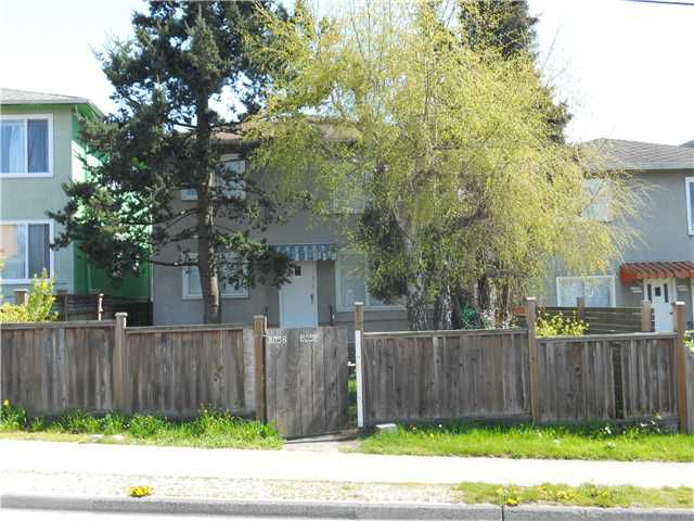 Main Photo: 8056 - 8058 FRASER ST in Vancouver: South Vancouver Land for sale (Vancouver East)  : MLS®# V890462