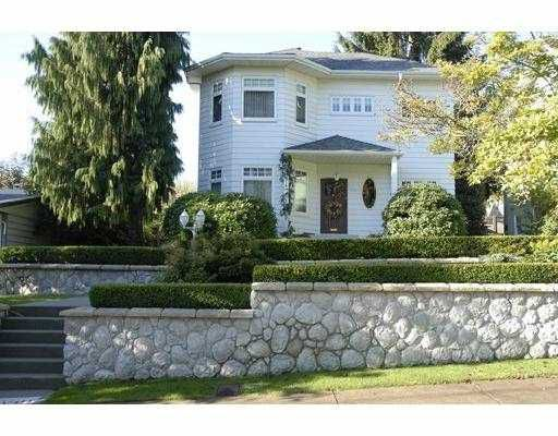 Main Photo: 318 1ST Street in New Westminster: Queens Park House for sale : MLS®# V627904