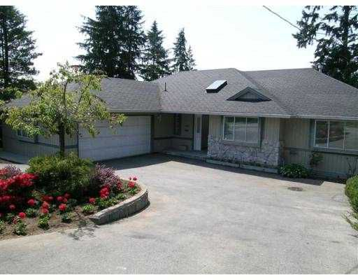 """Main Photo: 4697 RANGER Avenue in North_Vancouver: Canyon Heights NV House for sale in """"CANYON HEIGHTS"""" (North Vancouver)  : MLS®# V658683"""