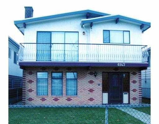 Main Photo: 6143 NANAIMO ST in Vancouver: Killarney VE House for sale (Vancouver East)  : MLS®# V571680