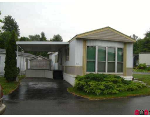 "Main Photo: 42 8220 KING GEORGE Highway in Surrey: Bear Creek Green Timbers Manufactured Home for sale in ""Crestway Bays"" : MLS®# F2719142"