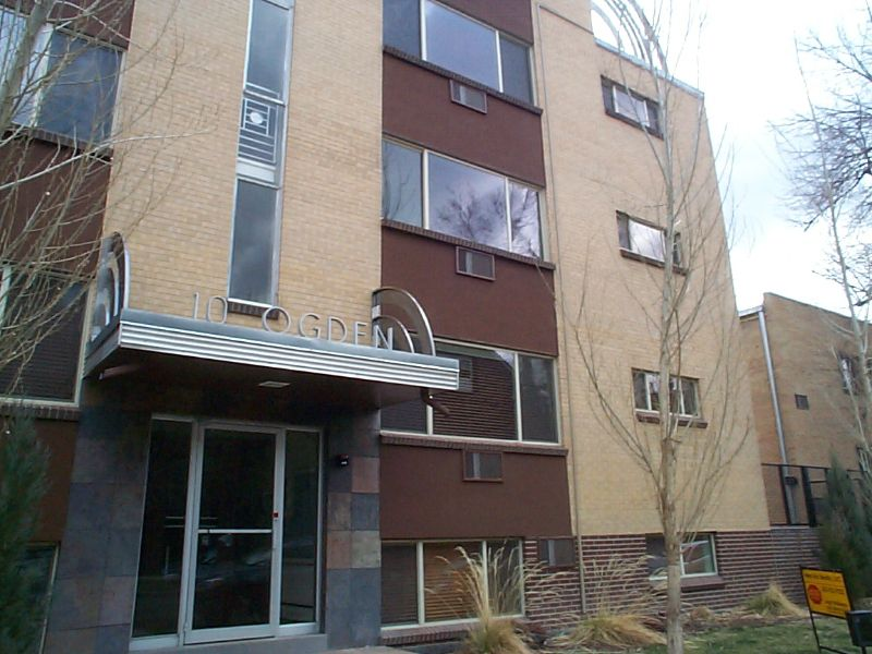 Main Photo: 10 Ogden St #106 in Denver: Country Club Flats Other for sale (DSE)  : MLS®# 639818