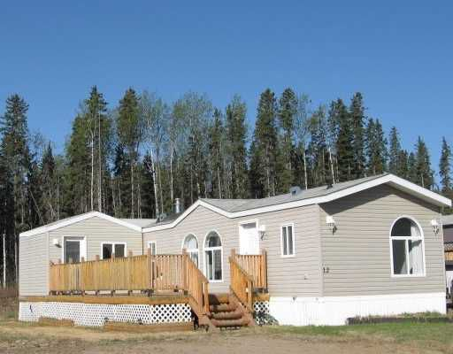 "Main Photo: 12 5700 AIRPORT Road in Fort_Nelson: Fort Nelson -Town Manufactured Home for sale in ""SOUTHRIDGE PARK"" (Fort Nelson (Zone 64))  : MLS®# N182502"