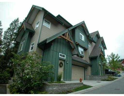 """Main Photo: 51 50 PANORAMA PL in Port Moody: Heritage Woods PM Townhouse for sale in """"ADVENTURE RIDGE"""" : MLS®# V537989"""