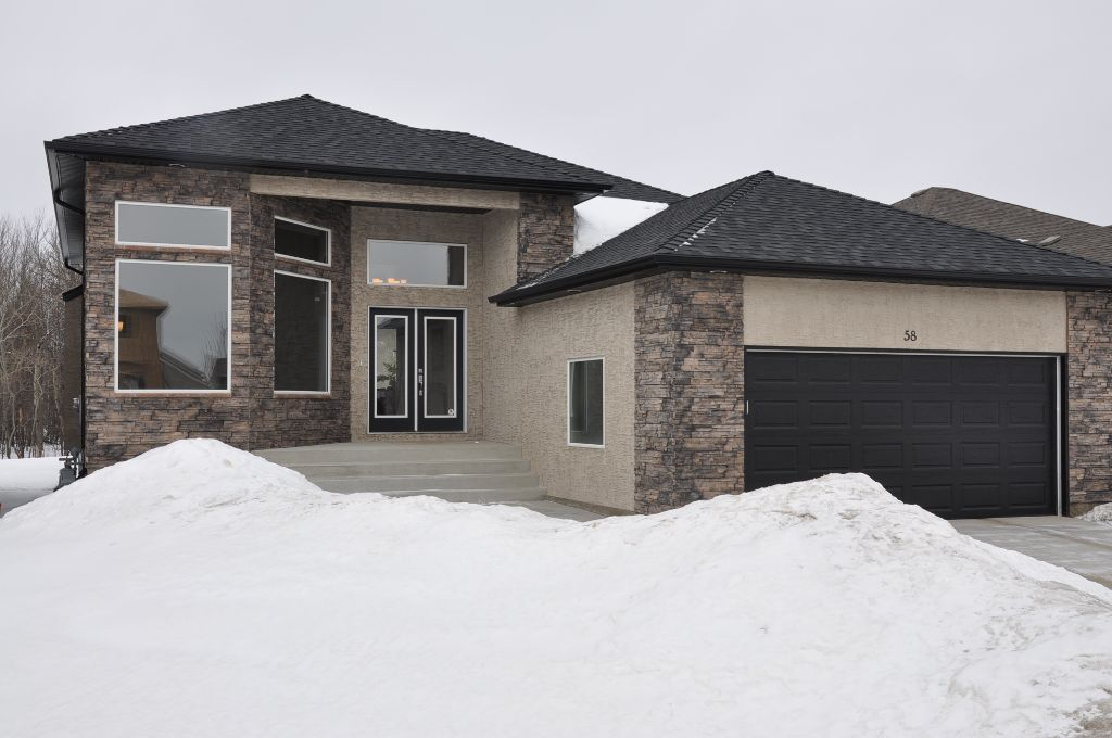 Fabulous 1741 sf 3 bedroom bungalow custom built by Gino's Homes (2010) on 50x135 lot backing onto a mature trees forest.