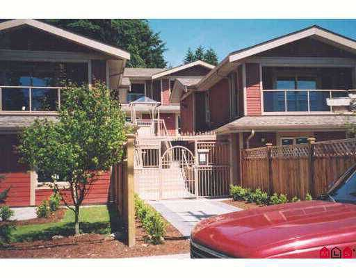 """Main Photo: 7 14921 THRIFT AV: White Rock Townhouse for sale in """"NICOLE PLACE"""" (South Surrey White Rock)  : MLS®# F2608511"""