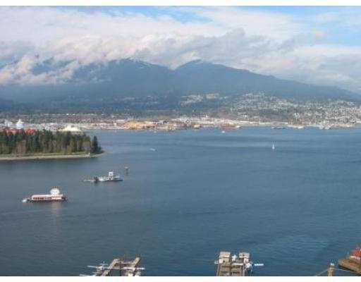 """Main Photo: 3703 1111 W PENDER ST in Vancouver: Coal Harbour Condo for sale in """"VANTAGE"""" (Vancouver West)  : MLS®# V549733"""