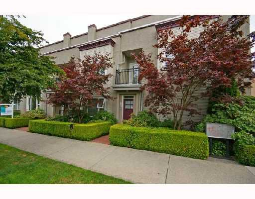 Main Photo: 1980 CYPRESS Street in Vancouver: Kitsilano Townhouse for sale (Vancouver West)  : MLS®# V677378