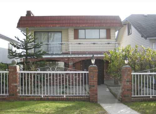 Main Photo: 3482 Franklin Street in Vancouver: Hastings East House for sale (Vancouver East)  : MLS®# V755001