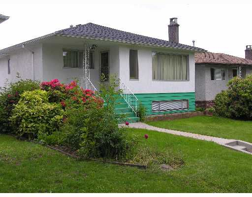 Main Photo: 2666 WAVERLEY Avenue in Vancouver: Killarney VE House for sale (Vancouver East)  : MLS®# V653683