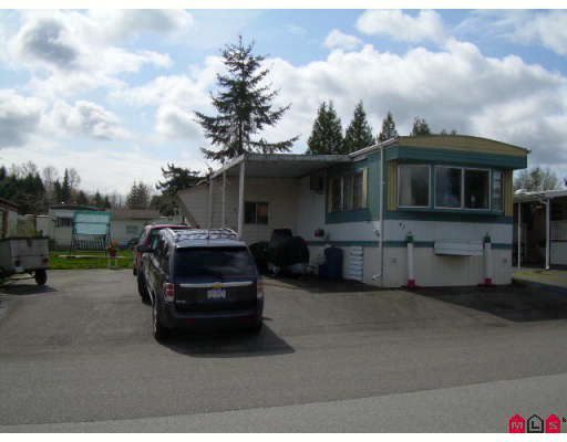 "Main Photo: 62 8266 KING GEORGE Highway in Surrey: Bear Creek Green Timbers Manufactured Home for sale in ""Plaza"" : MLS®# F2810959"