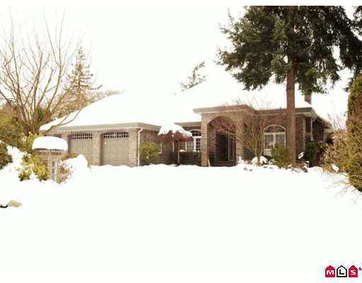Main Photo: 2089 134TH Street in White_Rock: Elgin Chantrell House for sale (South Surrey White Rock)  : MLS®# F2625930