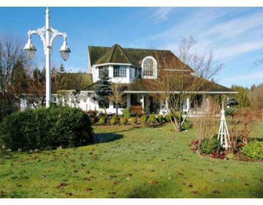 Main Photo: 9961 276TH Street in Maple Ridge: Whonnock House for sale : MLS®# V633882