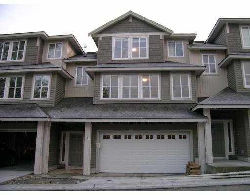 "Main Photo: 2 11160 234A Street in Maple_Ridge: Cottonwood MR Townhouse for sale in ""APEX LIVING"" (Maple Ridge)  : MLS®# V683565"