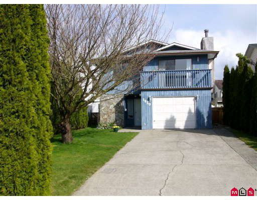 Main Photo: 1820 KEYS Place in Abbotsford: Central Abbotsford House for sale : MLS®# F2808327