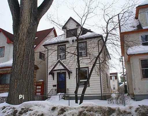 Main Photo: 397 VICTOR Street in Winnipeg: West End / Wolseley Single Family Detached for sale (West Winnipeg)  : MLS®# 2703106