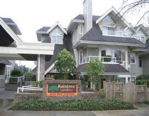 """Main Photo: 106 3628 RAE Ave in Vancouver: Collingwood Vancouver East Condo for sale in """"RAINTREE GARDENS"""" (Vancouver East)  : MLS®# V644778"""