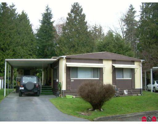 "Main Photo: 157 7790 KING GEORGE Highway in Surrey: East Newton Manufactured Home for sale in ""Crispen Bays"" : MLS®# F2807284"