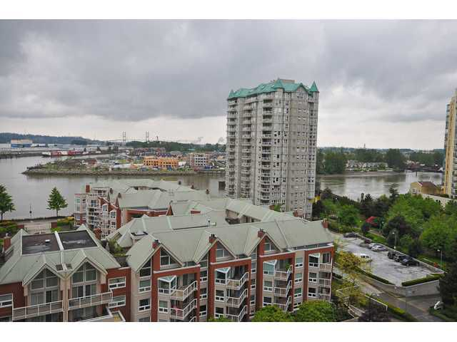 "Main Photo: # 1203 1235 QUAYSIDE DR in New Westminster: Quay Condo for sale in ""THE RIVIERA"" : MLS®# V832138"
