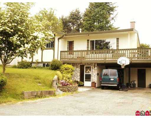 Main Photo: 2809 LAURNELL Crescent in Abbotsford: Central Abbotsford House for sale : MLS®# F2713763